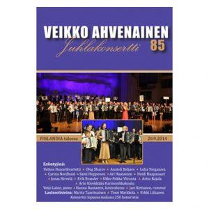 Veikko Ahvenainen – Juhlakonsertti 85 DVD
