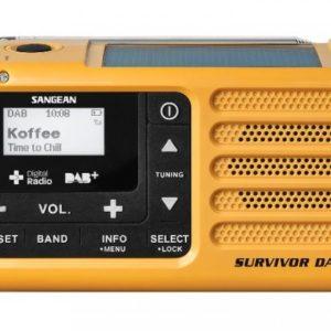 Solcelle DAB+ radio