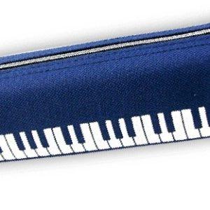 Pennal med keyboard (BLÅ)